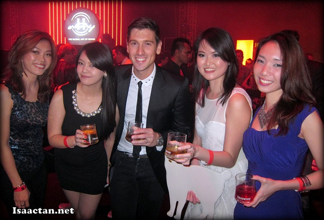 The ladies could not get enough of the dashing DJ Andy Murphy