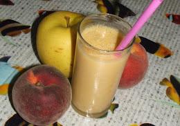 عصير بالخوخ