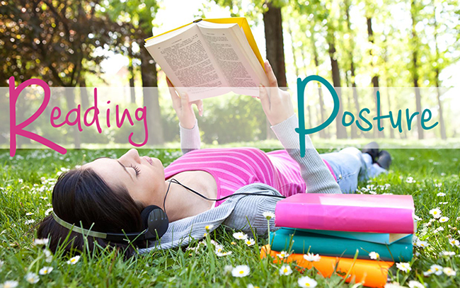 reading positions and posture