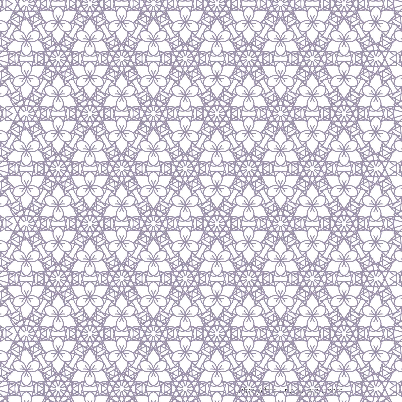 Blüten-Ornament-Muster