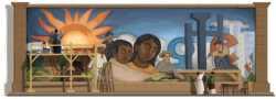 Diego Rivera doodle de Google Diego Rivera google doodle