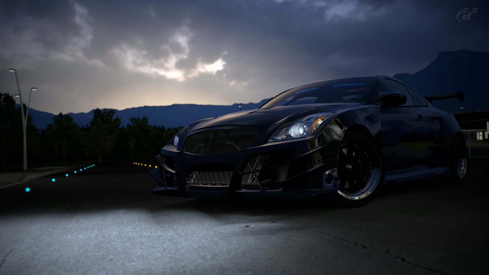 Sports Car High End Performance G37 Sema Gran Turismo