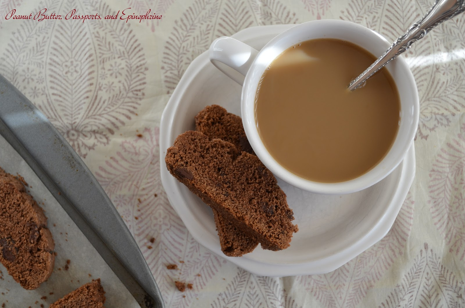 Pure and Peanut Free: Gluten Free Double Chocolate Biscotti