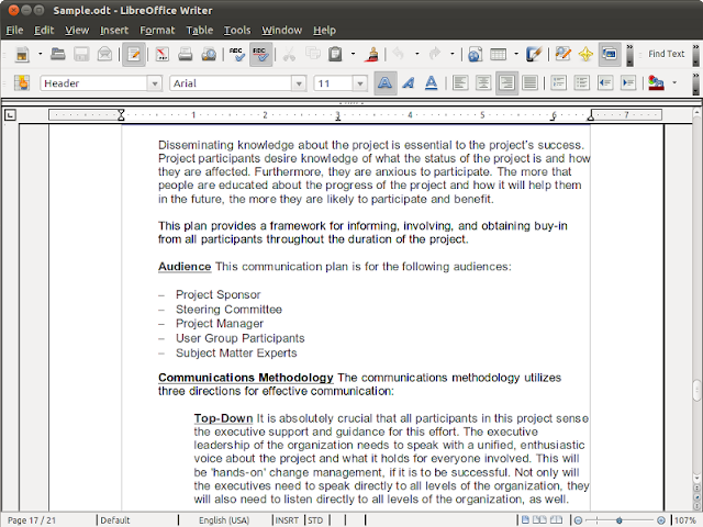 LibreOffice 4.1 – Writer
