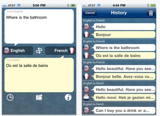 how to translate an app