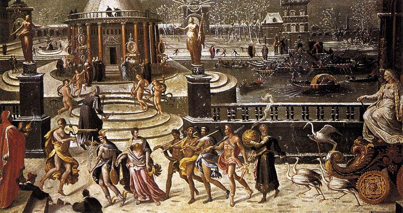 Aquarium of Vulcan The Triumph of Winter -> Aquarium Table Baroque