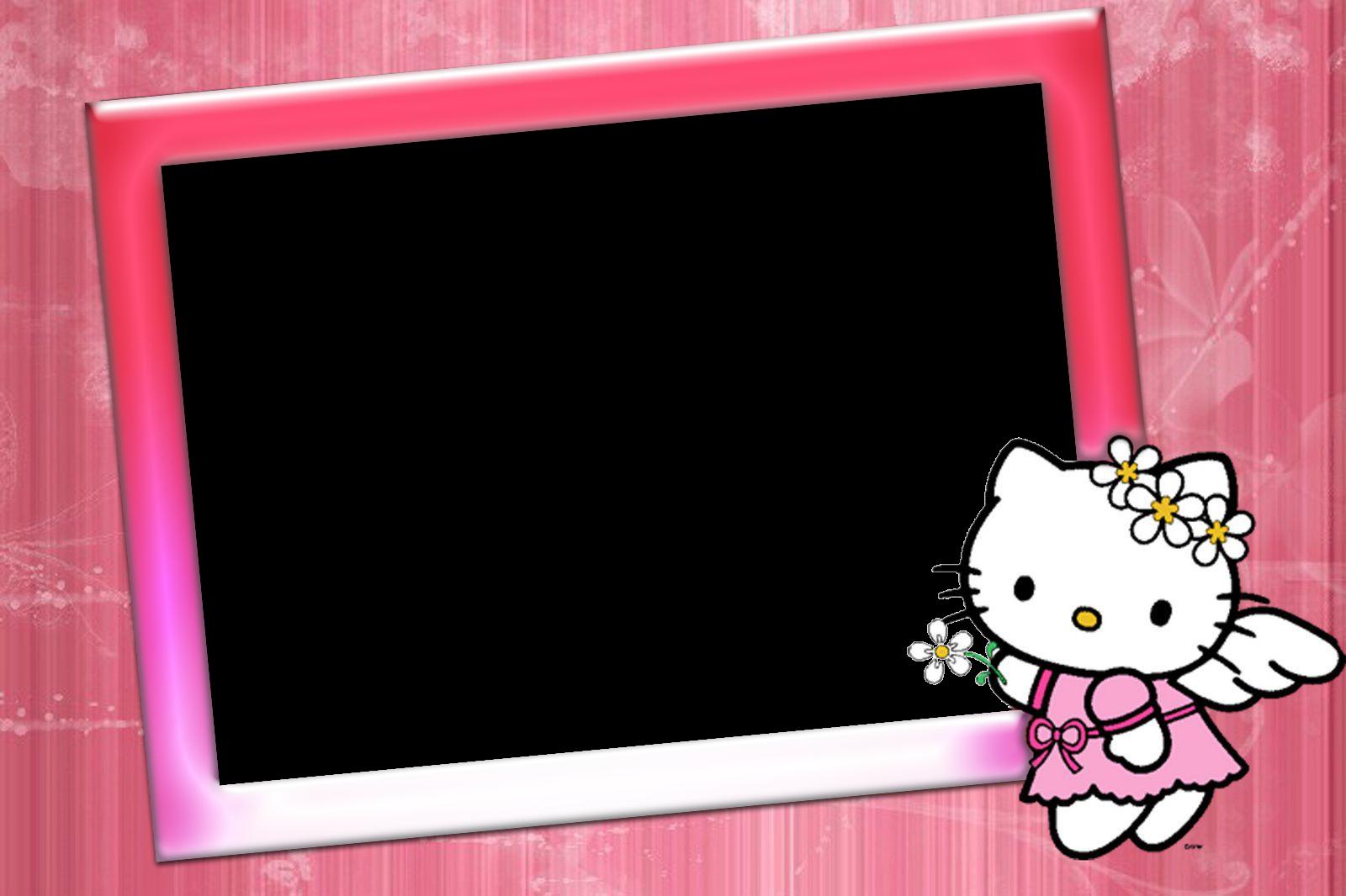 Delicados marcos de hello kitty todos en png marcos - Marcos de fotos grandes ...