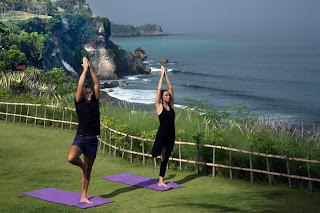 yoga class in Ubud, yoga in hotel, yoga in hotel resorts Bali