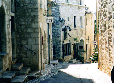 Rue Grande, Saint Paul de Vence, France