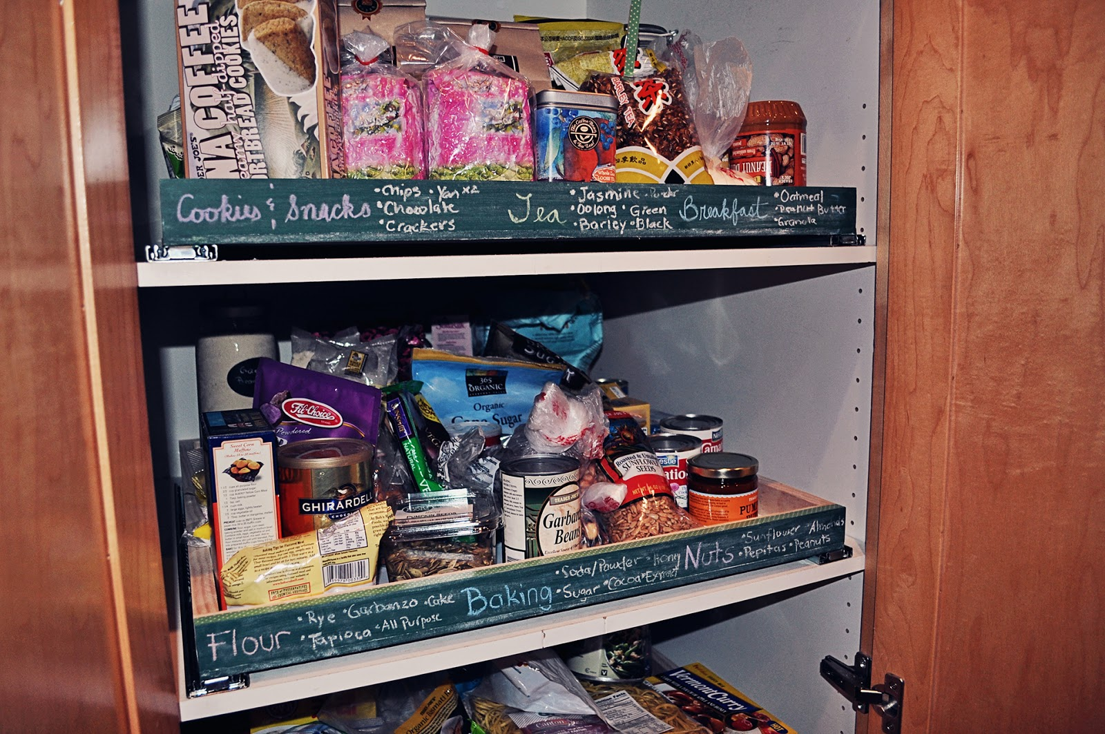 DIY pull out pantry shelves a boy a girl and 2 mini aussies