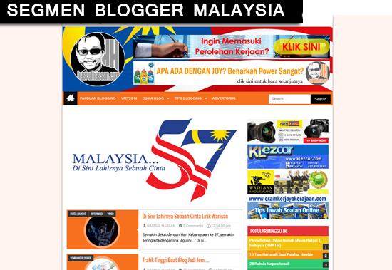 Segmen Merdeka 57 oleh hasrulhassan.com, Malaysia Di Sini Lahirnya Sebuah Cinta dari Blogger