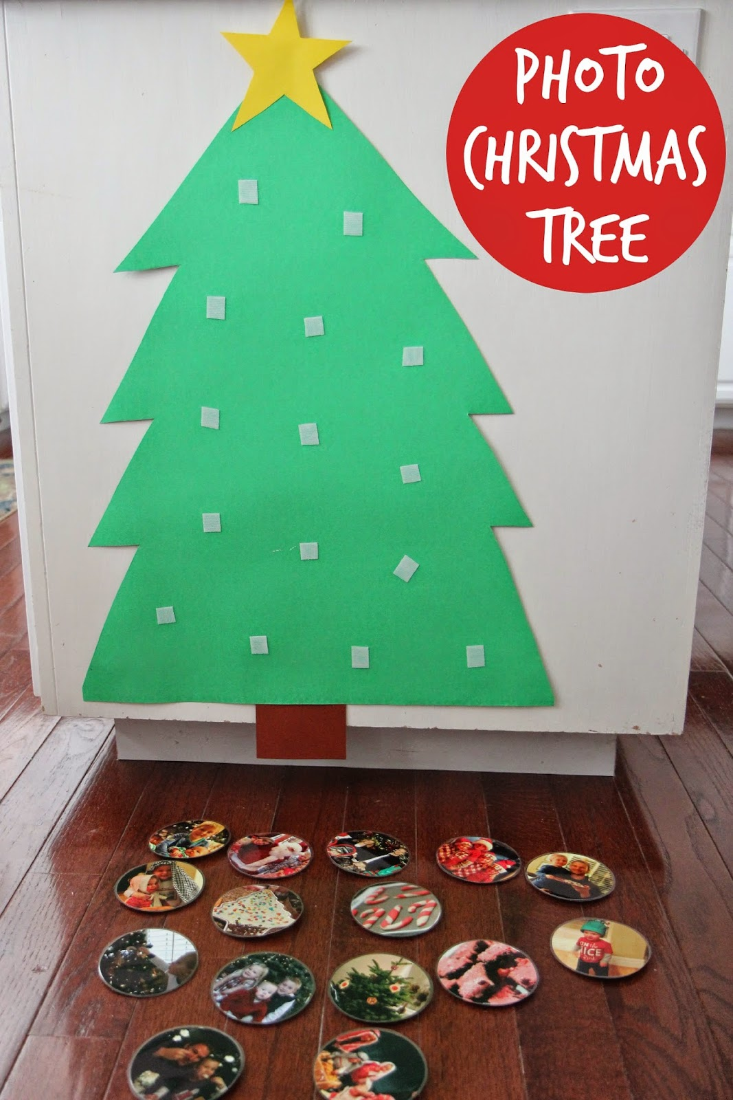 Toddler Approved!: Build a Photo Christmas Tree for Babies & Toddlers