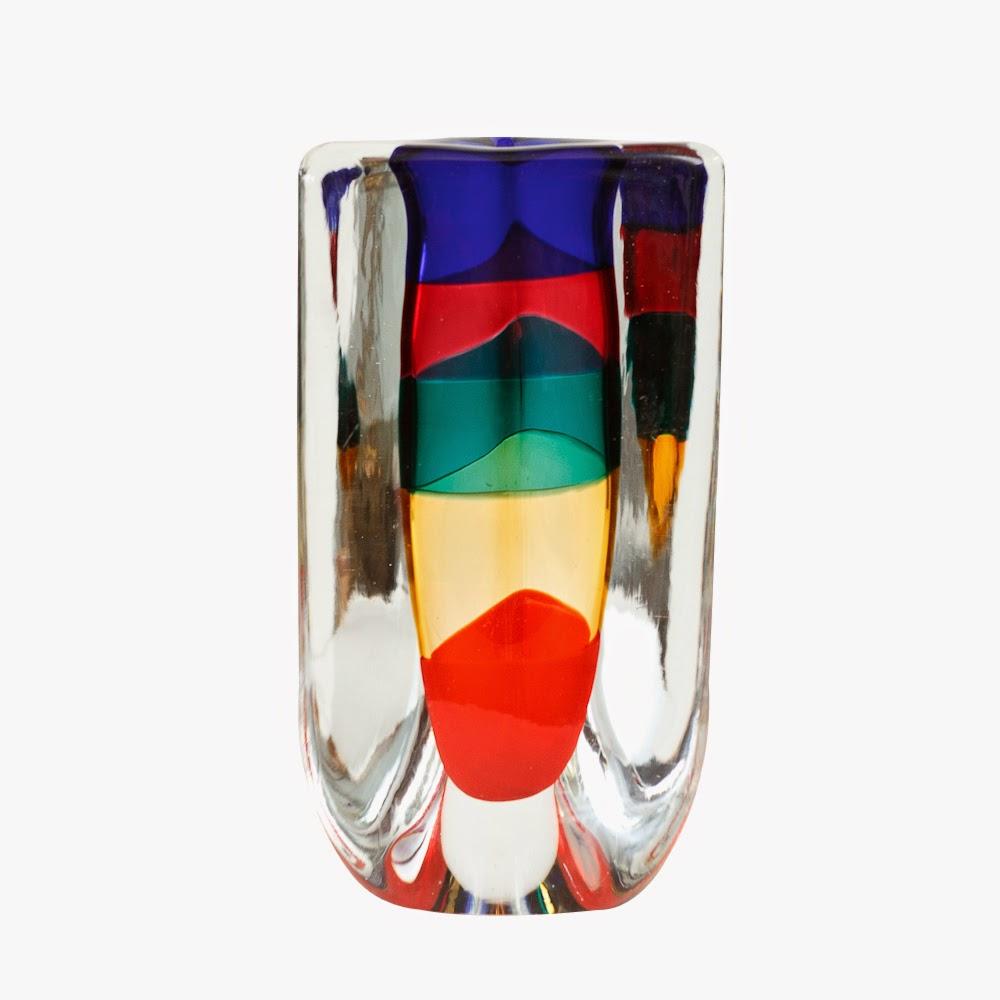 Venini Italian Glass Vase