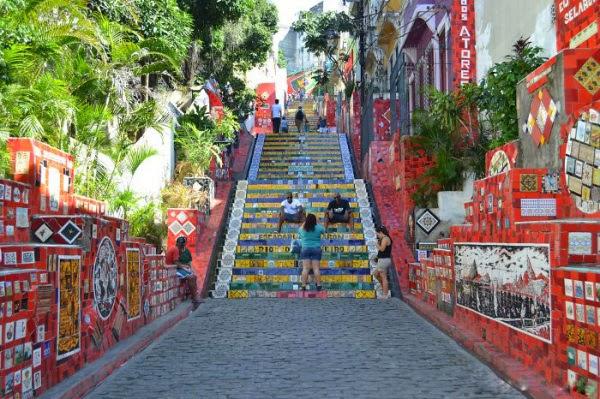 Rio de Janeiro, Brazil - staircase design