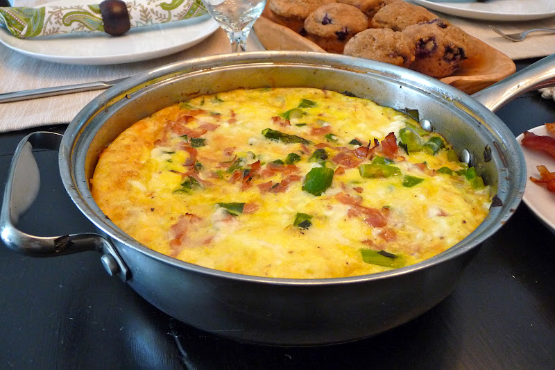 ... and beats: Easter Brunch Menu, and Ham, Asparagus, & Fontina Frittata