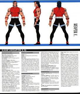 Arma X (ficha marvel comics)