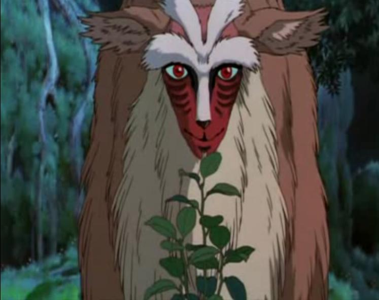 Ravage reviews princess mononoke what is a kodama what is a forest god voltagebd Image collections