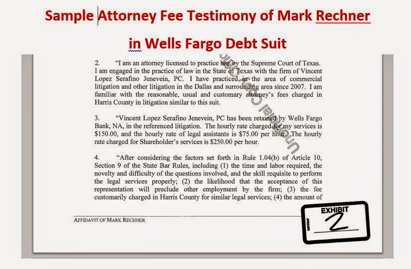 Consumer Debt Litigation Texas Mark Rechner Debt
