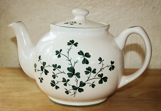 My Shamrock Teapot Photo by Tori Beveridge AHWT