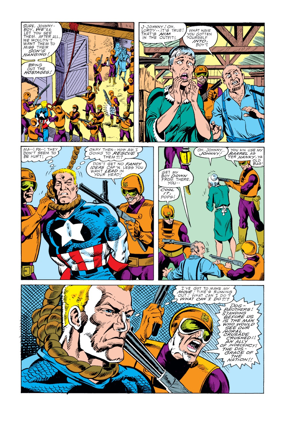 Captain America (1968) Issue #345 #275 - English 19
