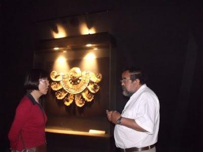 Embajadora china visitó museo Tumbas Reales de Sipán.