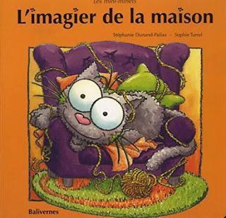 L'imagier de la maison & L'imagier du Jardin (Les petits chats) - Stéphanie Dunand-Pallaz & Sophie Turrel