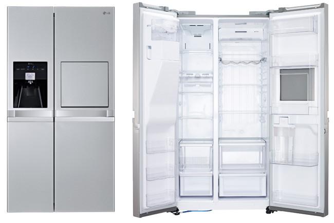 Cafran cocinas frigor ficos de tres puertas door in door de lg - Frigorificos de dos puertas ...