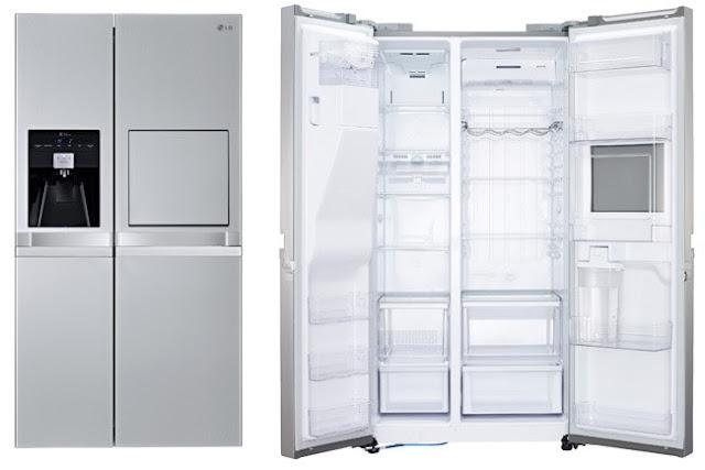 Cafran cocinas frigor ficos de tres puertas door in door - Nevera dos puertas verticales ...