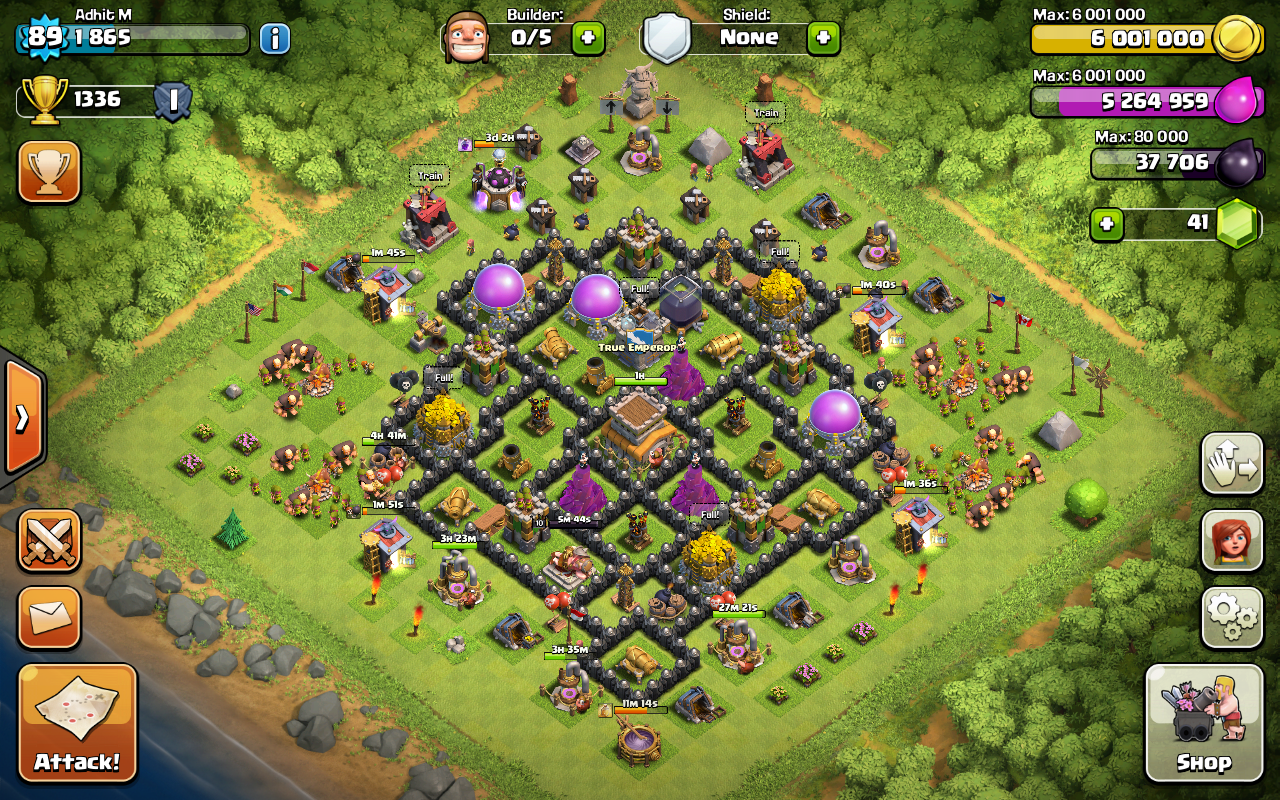 Base farming layout th6 by spikerush base farming layout th6 by - Town Hall 9 Formation Related Keywords Suggestions