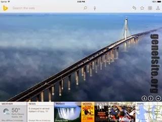 Bing ipad uygulaması güncellendi