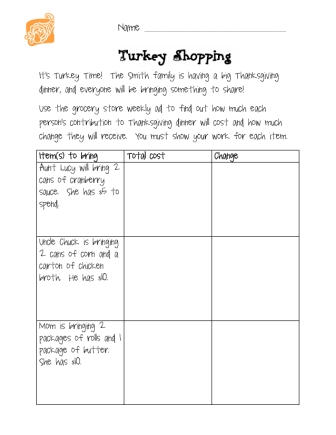 math worksheet : lovin  learning november 2012 : Grocery Store Math Worksheets