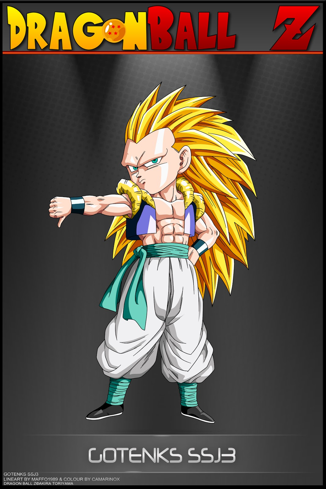 Dragon ball z wallpapers gotenks super saiyan 3 - Photo dragon ball z ...