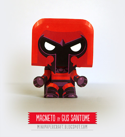 Mini Magneto Paper Toy