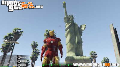 V - Mod Estátua da Liberdade para GTA V PC
