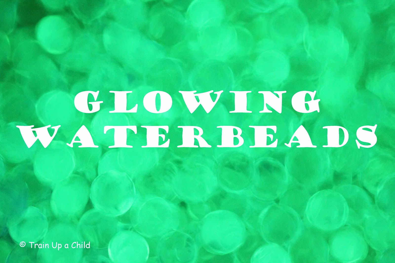 Glow in the dark water balloons - How To Make Glow In The Dark Water Beads Uv Reactant