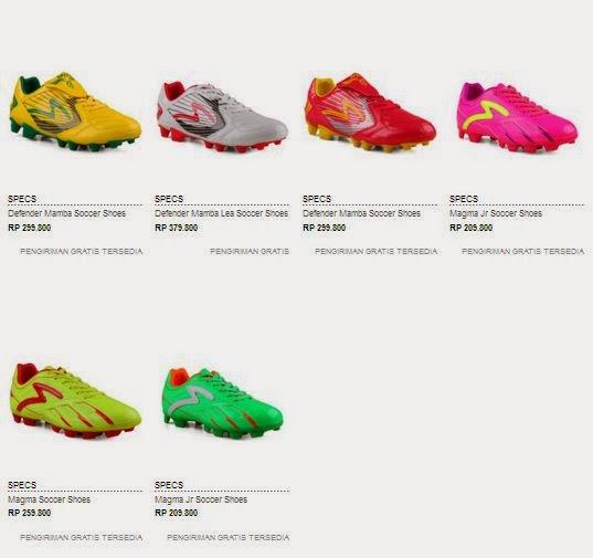 Daftar Harga Sepatu Bola Specs Original Terbaru ~ Toko Sepatu Olahraga  Original 21ab790de2