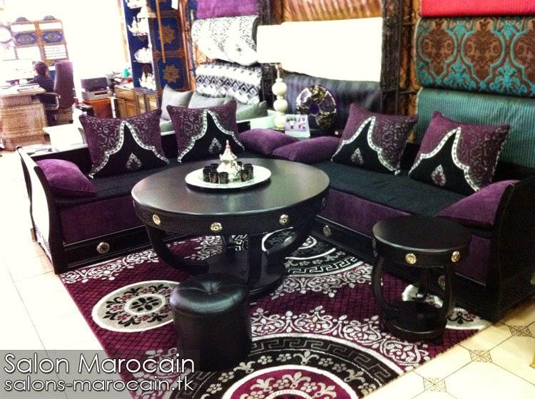 Table ronde pour salon marocain