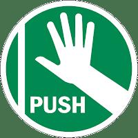Push = empurre