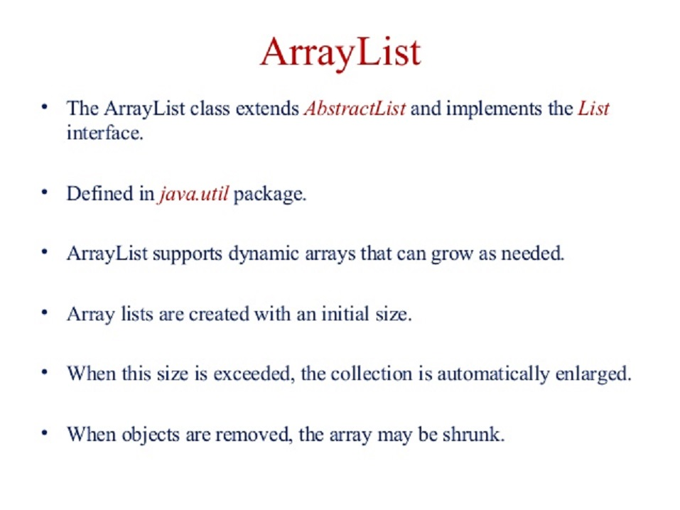 How to get first and last elements form ArrayList in Java | Java67