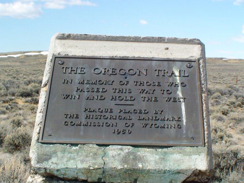 pioneers on oregon trail. The Oregon Trail