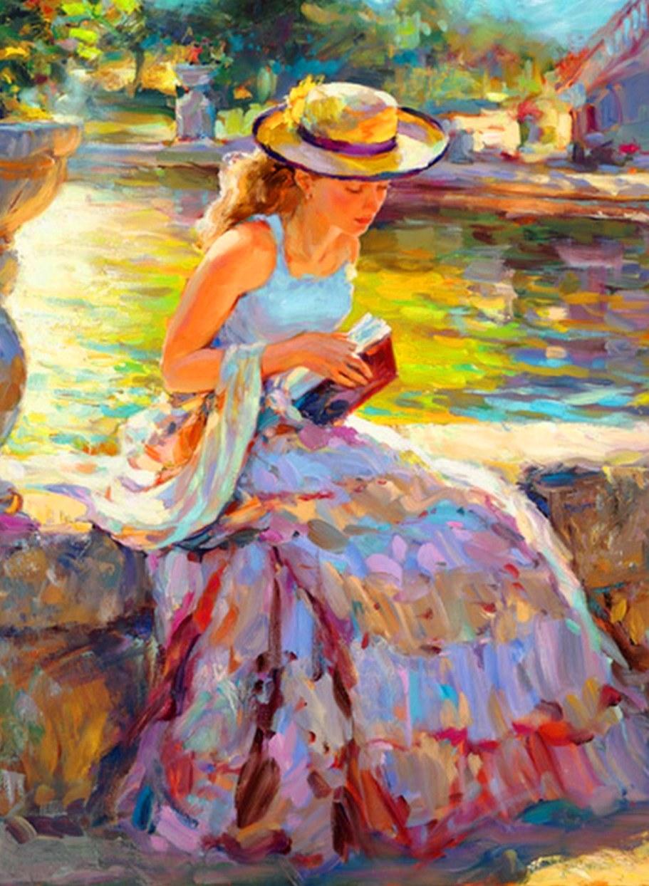 pinturas de mujeres al oleo pintura femenina al oleo sobre lienzo arte