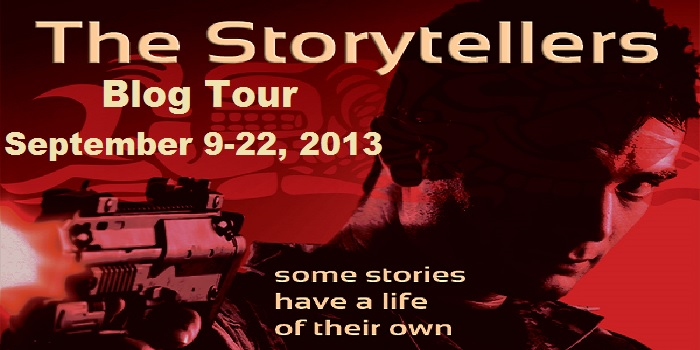 The Storytellers. By Laura Elliott. Synopsis: Four storytellers