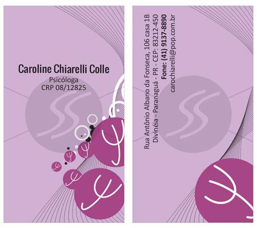 cartoes de visita psicanalista - Cartões de Visita para Psicólogos