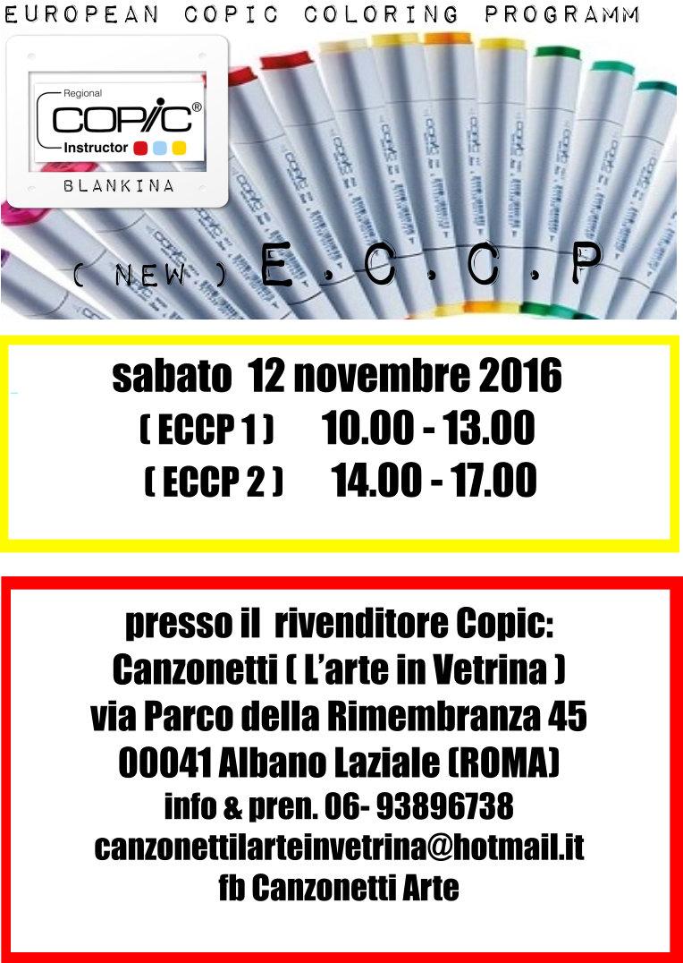 CORSO 1 E 2 NEW ECCP A ALBANO LAZIALE (ROMA)  12 NOVEMBRE 2016