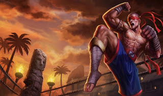 Muay Thai Lee Sin Skin