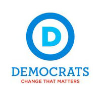 democratic party donkey  logo