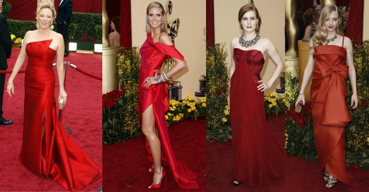 diversos modelos de longos vermelhos como usar o vestido de