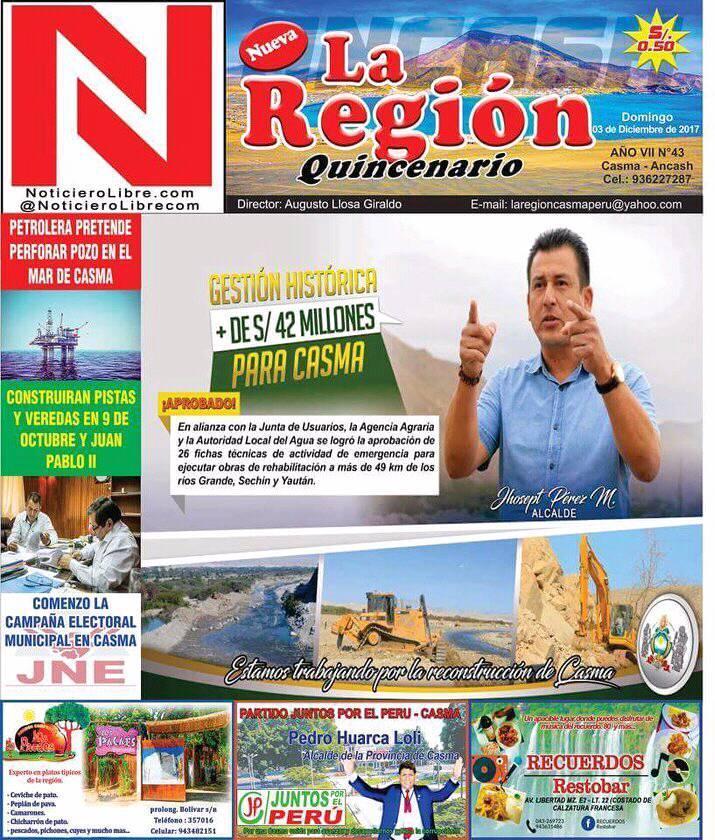 Periódico La Región N° 43