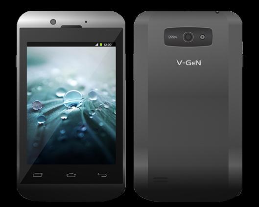 Smartphone V-GeN A01 | Spesifikasi Lengkap dan Harga terbaru