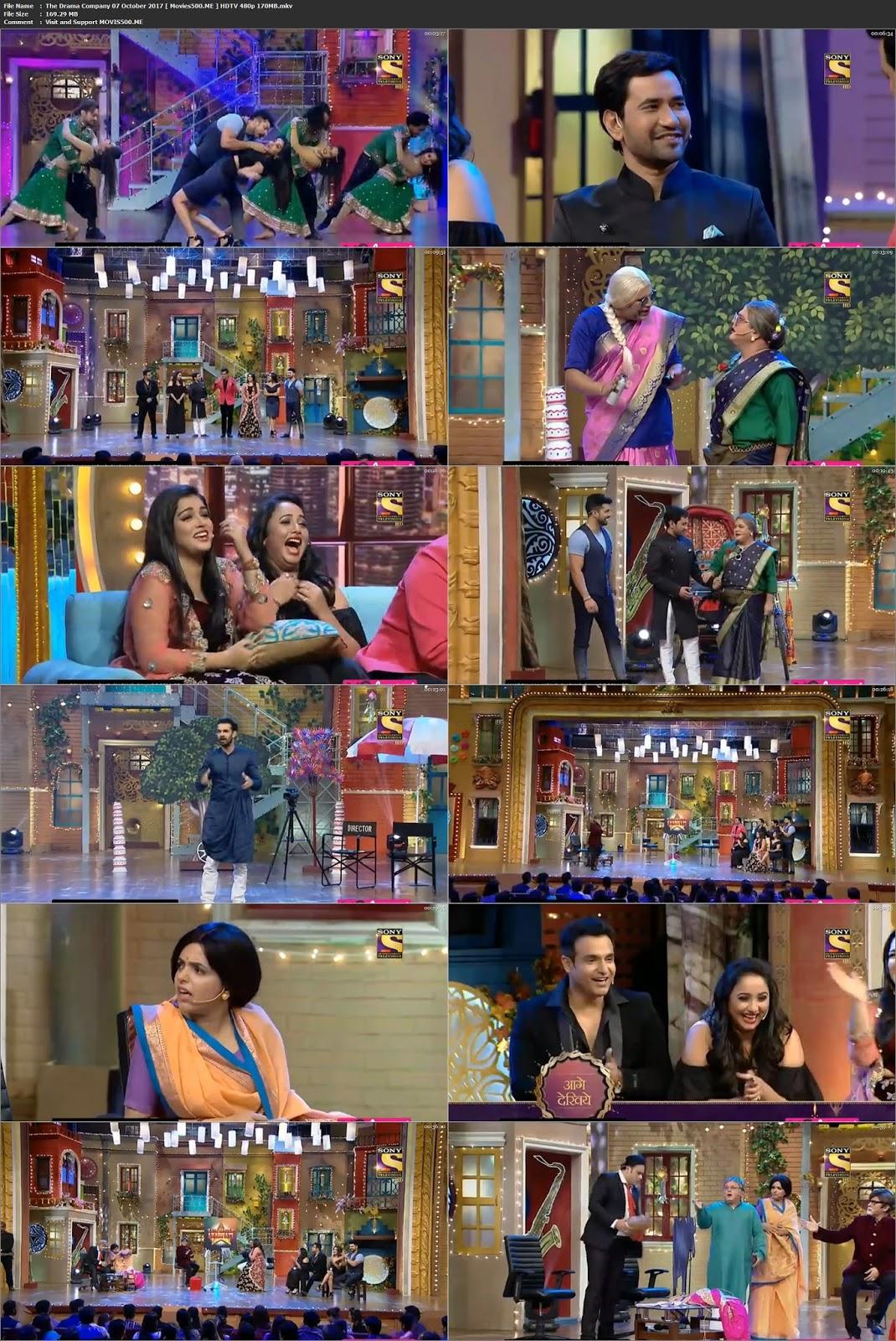 The Drama Company 07 October 2017 Full Show HDTV 480p at createkits.com